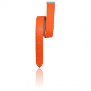 Bracelet interchangeable Antarès cuir Lanière Orange 15 17048.80
