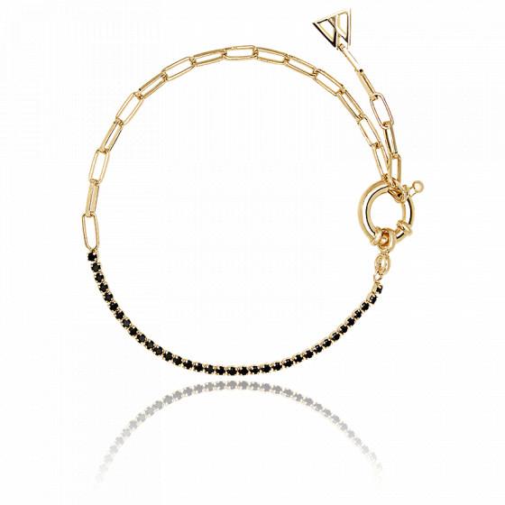 Bracelet en or black mirage