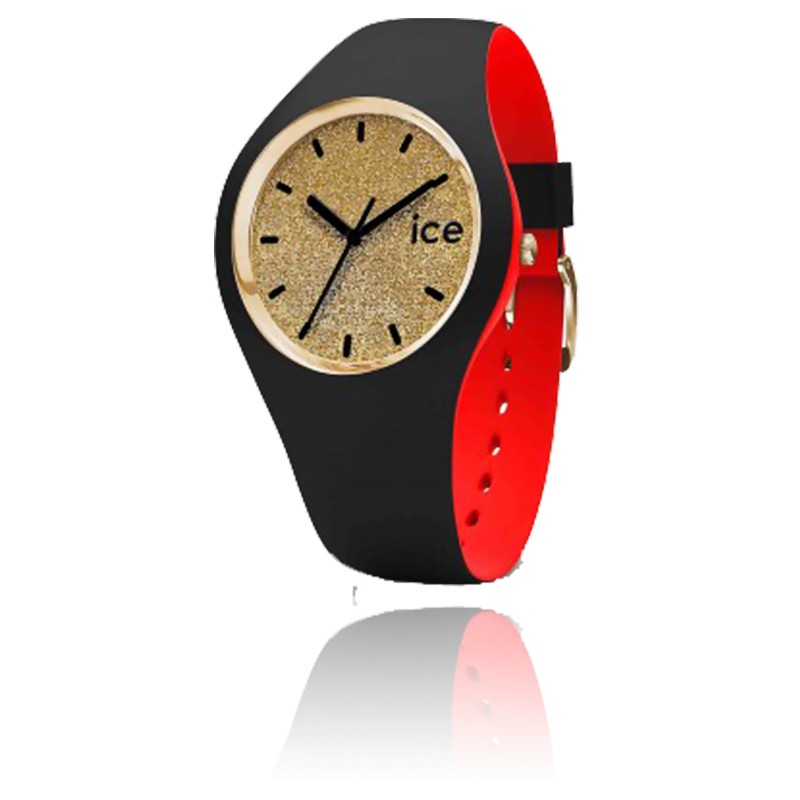 Montre ICE Loulou Gold Glitter Small 007228