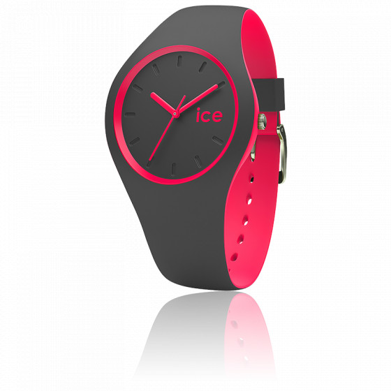 Montre ICE Duo Anthracite Pink 001501