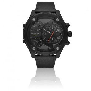 Montre Chronographe cuir noir DZ7425