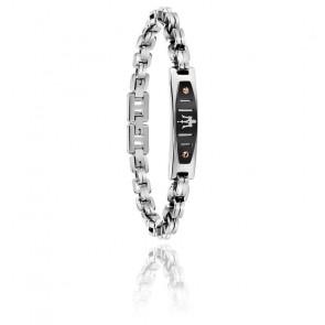 Bracelet acier & PVD, JM419ARY02
