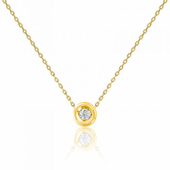 collier or diamants