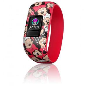 Bracelet connecté Vívofit® Jr. 2 Minnie Mouse Rouge 010-01909-00