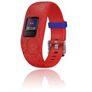 Bracelet connecté Vívofit® Jr. 2 Spider-Man Rouge 010-01909-16