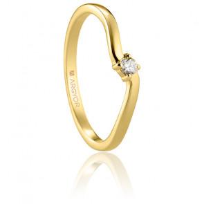 Alliance Cuerva or jaune 18K & diamant