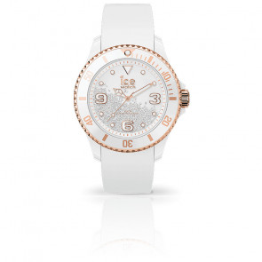 Montre ICE Crystal White Rose-Gold 017248