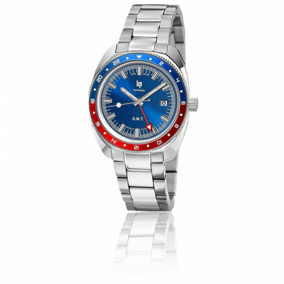 "Montre Marinier GMT 39mm ""Pepsi"" 671373"