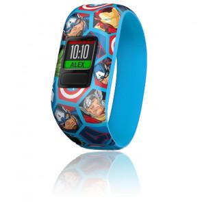 Bracelet connecté Vívofit® Jr. 2 Avengers 010-01909-02