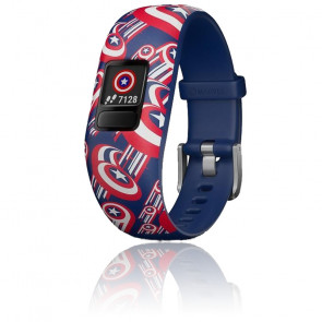 Bracelet connecté Vívofit® Jr. 2 Captain America 010-01909-12