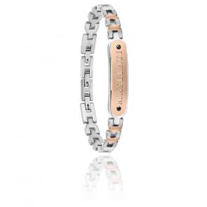 Bracelet acier & PVD, JM419ARZ01