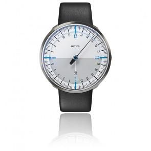 Montre UNO24 Plus White Blue Quartz Leather