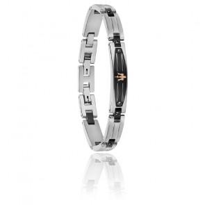 Bracelet acier & PVD, JM419ARY03