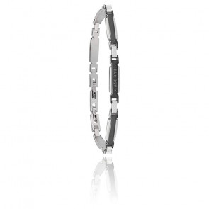 Bracelet acier & PVD, JM418ANL06