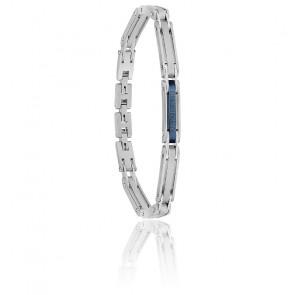 Bracelet acier & céramique, JM219AQH20