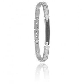 Bracelet acier, JM218AMD09
