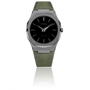 Montre Ultra Thin Suede Leather D1-UTLJ06