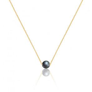 Collier Linoa perle de Tahiti & Or Jaune 18K