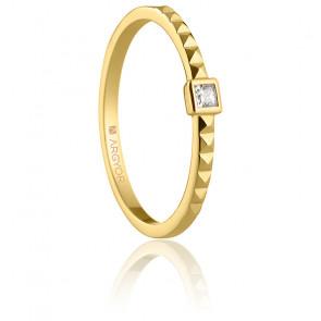 Alliance Cuenca or jaune 18K & diamant