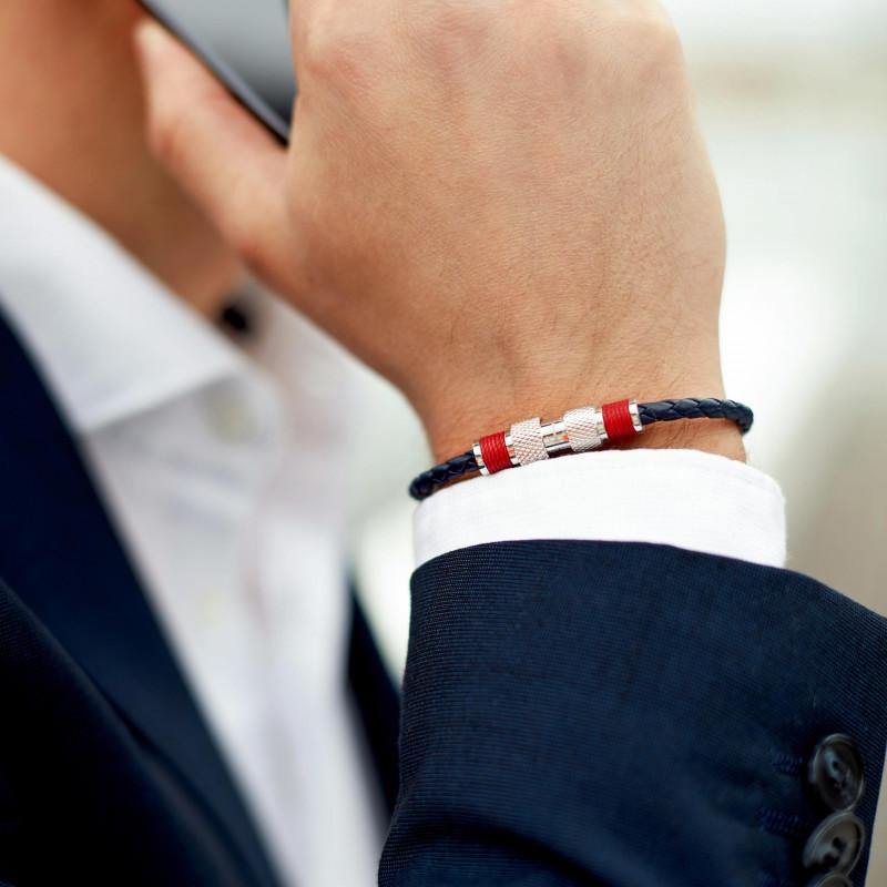 bracelet cuir homme tom hope