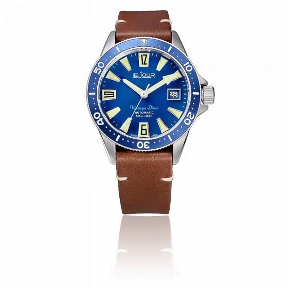 Montre Vintage Diver LJ-VD-003
