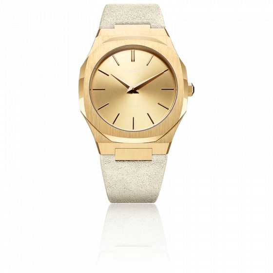 Montre Ultra Thin Suede D1-A-UTL06