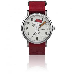 Montre Snoopy 38 mm Bracelet Nylon TW2R414006B