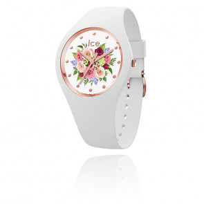 Montre ICE Flower White Bouquet Small 017575S