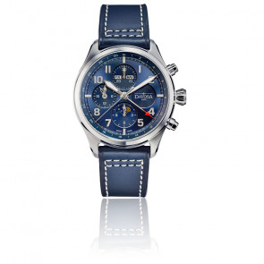Montre Newton Pilot Moonphase Chrono 161 586 45