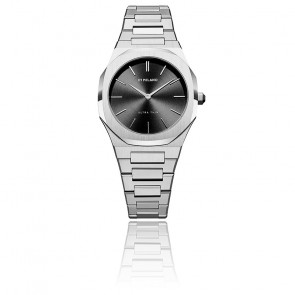 Montre Ultra Thin Silver Night SKU UTBL05