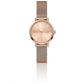 Montre Moon Mini Femme Maille Milanaise Rose 2001137