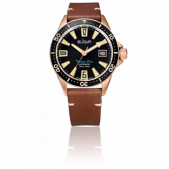 Montre Vintage Diver LJ-VD-006