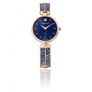 Montre Dream Rock Bracelet Métal Bleu Or Rose 5519317