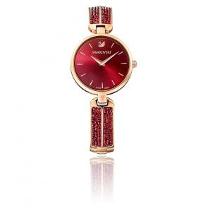 Montre Dream Rock Bracelet Rouge Or Rose 5519312