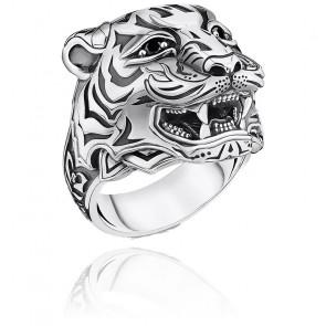 Bague tigre argent 925