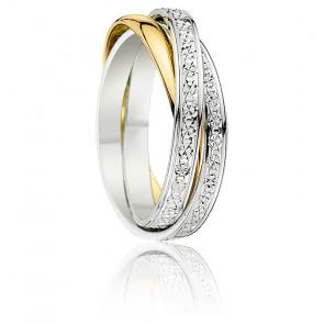 Alliance Firoza Diamantée 2 Ors 18K