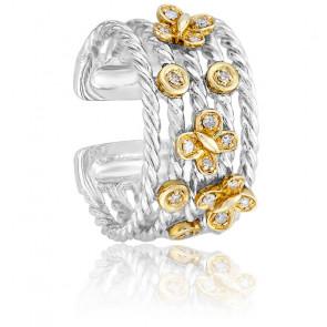 Bague Jardin Estival 2 Ors & Diamants