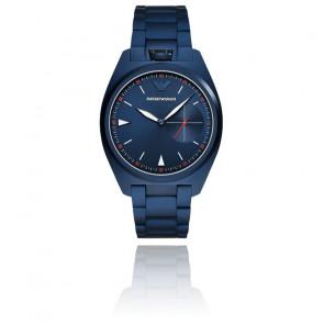 Montre Acier Bleu AR11309