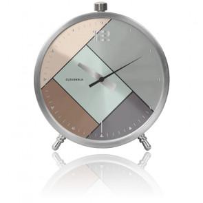 Réveil Rubik Silver Alarm Clock