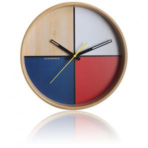 Horloge Flor White Wall Clock