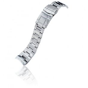 Bracelet Super-O Boyer Acier 316L 22mm SS221805B061 pour Orient Mako II & Ray II