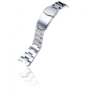 Bracelet Super-O Boyer Acier 316L 22mm SS221820B061 pour Orient Mako II & Ray II