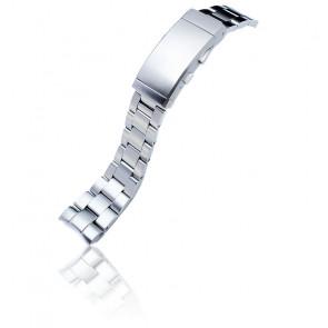 Bracelet Super-O Boyer Acier 316L 22mm SS221817B061 pour Orient Mako II & Ray II