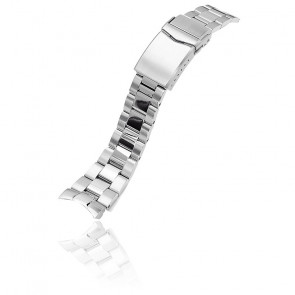 Bracelet Super-O Boyer Acier 316L 22mm SS221820BPS061 pour Orient Mako II et Ray II