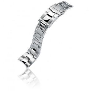 Bracelet Super-O Boyer Acier 316L 22mm SS221805P2S061 pour Orient Mako II et Ray II