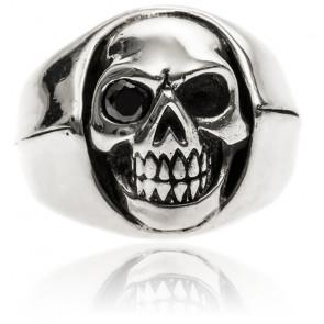 Bague Tête de mort argent little skull