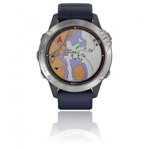 Montre Quatix 6 bracelet bleu 010-02158-91