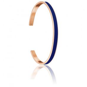 Bracelet Jonc Symphony BJ04a5468 Bleu