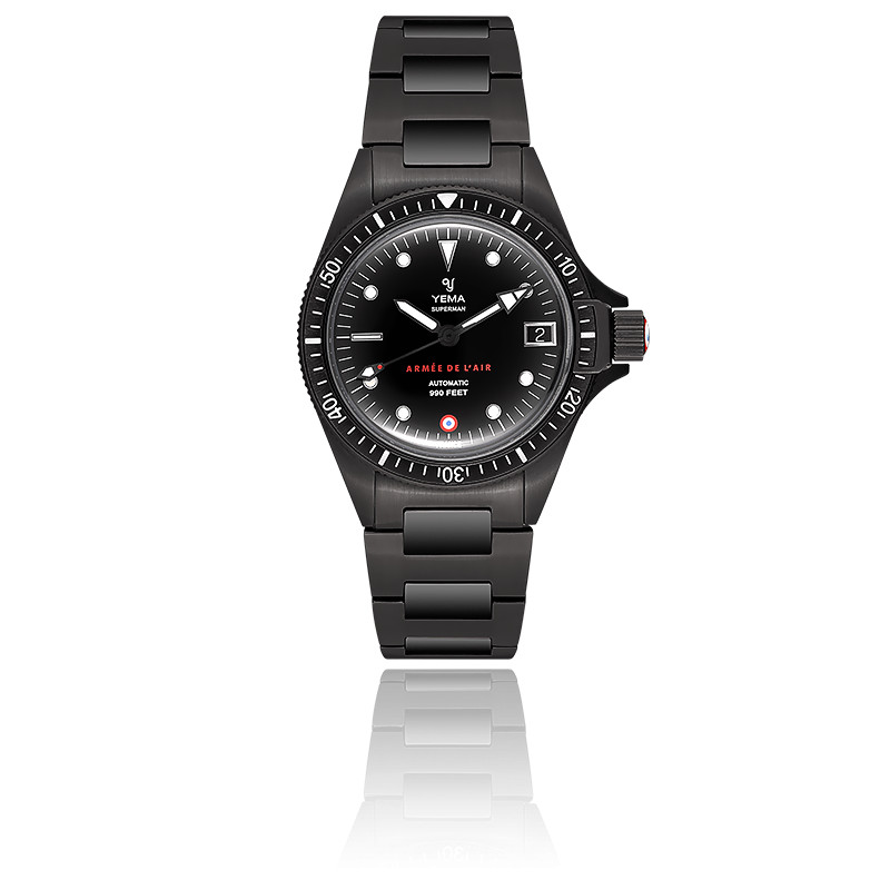 Montre Superman Armée de l'Air Black YAA39-3AMS