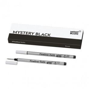 2 packs de 2 Recharges feutre fin (B) Mystery Black